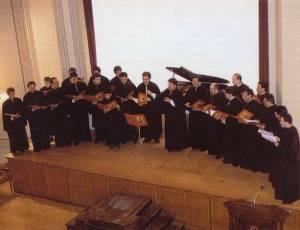 Η Ο.Ε.ΒΥ.Χ. στην αίθουσα «ΠΑΡΝΑΣΣΟΣ» στις 4 Μαΐου 1996 σε μεγάλη συναυλία που οργάνωσε το Εθνικό Ωδείο Αθηνών.