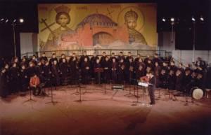 Η Ο.Ε.ΒΥ.Χ. στο Α΄ μέρος της μεγάλης συναυλίας «ΕΑΛΩ Η ΠΟΛΙΣ» στο δημοτικό αμφιθέατρο Αχαρνών στις 28 Μαΐου 2005.