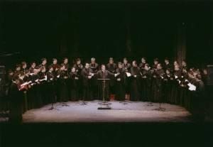 Η Ο.Ε.ΒΥ.Χ. στην πρωτότυπη συναυλία στην Εθνική Λυρική Σκηνή «Ίδε ο Αμνός» στις 29 Μαρτίου 2007.