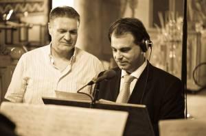 Ηχογράφηση του 30ου CD. Μιχάλης Μακρής και Νικόλας Βαφειάδης. 02-07-2011