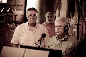 Ηχογράφηση του 30ου CD. Μιχάλης Μακρής και Γιάννης Τριανταφυλλίδης. 02-07-2011