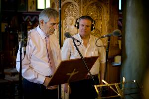Ηχογράφηση του 30ου CD. Παύλος Τούτουζας και Μιχάλης Μακρής. 02-07-2011