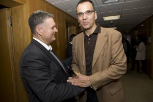 Μέγαρο Μουσικής. Μιχάλης Μακρής και Κώστας Αγγελίδης.  31-03-2012